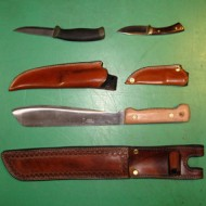 Knife Sheath - Custom Knife Sheaths Made To Order
