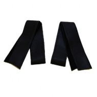 Cuff Bindings (narrow) - Black Leather
