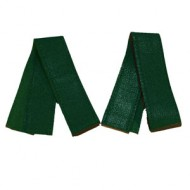 Cuff Bindings - Forest Green Leather