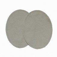Leather Elbow Patches - (Size Medium) Fawn (three sizes available)
