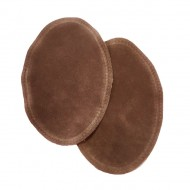 Suede Elbow Patches - (Size: Large) Light Brown (three sizes available)