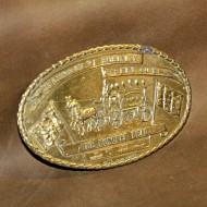 Minted Brass Buckle - Richmond Burial Casket Company