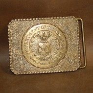 Minted Brass Buckle - US Air Force