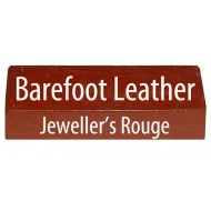 Jeweller's Rouge Leather Strop Sharpening and Polishing Compound for bushcraft, leatherwork, woodwork and straight razors