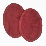 Suede Elbow Patches - (Size: Large) Russet Red (three sizes available)
