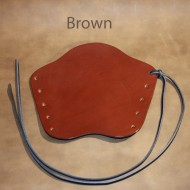 Archery Bracer - 'Lace up' Squire Style fits Teenager to Adult - Brown