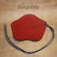 Archery Bracer - 'Lace up' Squire Style fits Teenager to Adult - Burgundy