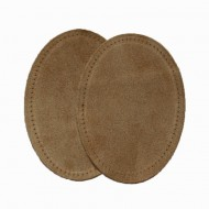 Suede Elbow Patches - (Size: Large) Tan (three sizes available)